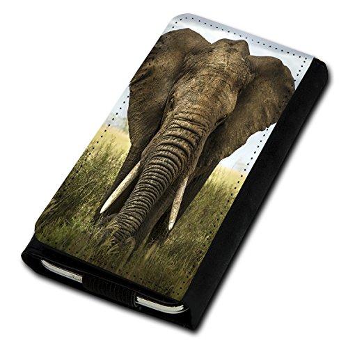 sw-mobile-shop Book Style Flip Handy Tasche Case Schutz Hülle Foto Schale Motiv Etui für Medion Life E5001 - Flip U5 Design3