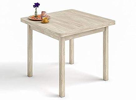 Amazon.es: mesa cocina madera extensibles 90 x 90 - Muebles: Hogar y ...