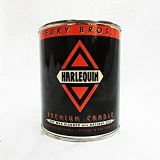 Fury Bros.. Harlequin Premium Candle, Absinthe and Black Cedar An American in Paris. Rock 'n Roll vampires. The night. 12.5 Ounce