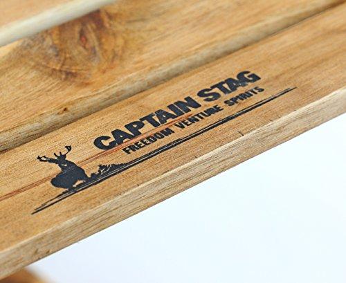 キャプテンスタッグ(CAPTAINSTAG)キャンプベランダ収納棚木製3段ラックMOVEラックW600mm高さ2段階調節可能CSクラシックスUP-2581