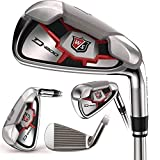 Wilson Staff D200 Combo Irons Set 4H, 5-PW (Steel, UNIFLEX) Golf Clubs