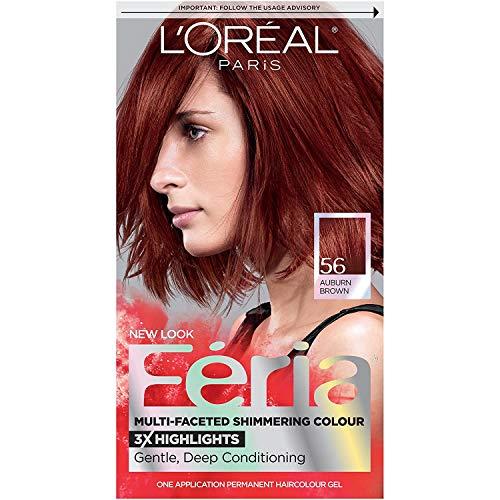 L'Oreal Paris Feria Multi-Faceted Shimmering Permanent Hair Color, 56...