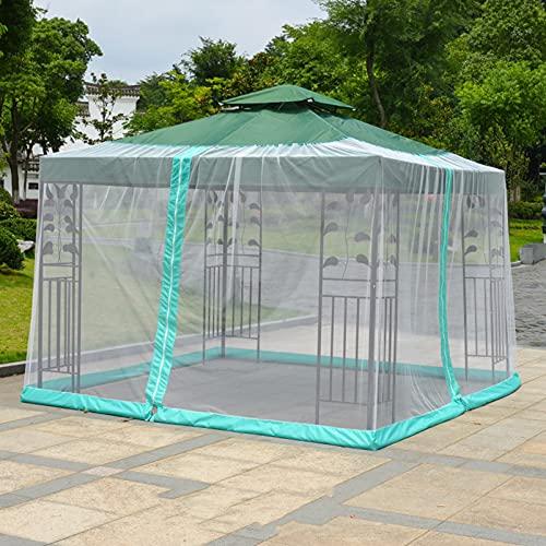 Pantalla de la red de la cubierta del paraguas del patio de la mosquitera, Mosquitera para exteriores sombrilla para patio mosquitera resistente a los rayos UV para acampar al aire libre en el jardí