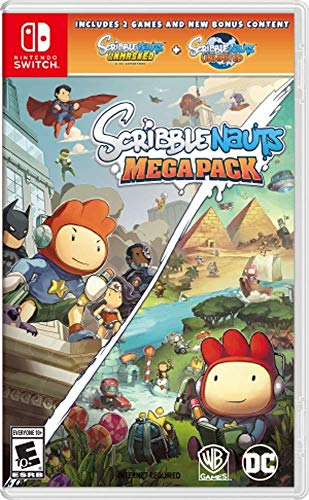 Scribblenauts Mega-Pack für Nintendo Switch