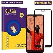 CaiLai Huawei P20 Pro Panzerglas Schutzfolie, Hohe Qualität 3D Gehärtetem Glass 9H Härte/Ultra Klar/Anti-Kratzer/Einfaches Anbringen/Displayschutz Gehärtetem Glass Folie für Huawei P20 Pro