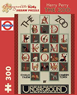 The Zoo: 300 Piece Puzzle (Pomegranate Kids Jigsaw Puzzle)