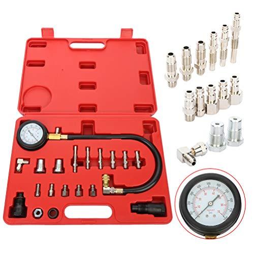 Review Cylinder Leak Detector Engine Compression Tester Kit