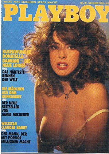 Playboy Magazin Oktober 1983 Donatella Damiani, Claudja Barry
