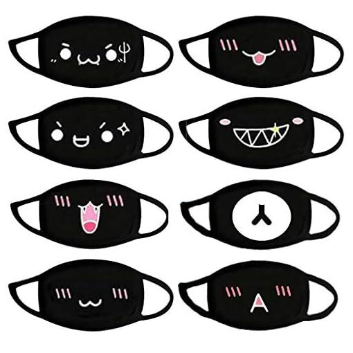 Anime Mundschutz aus Baumwolle Kawaii Mundschutzmaske