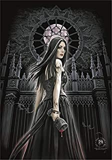 signs-unique Anne Stokes Gothic Siren Large Fabric Poster / Flag 1100mm x 750mm (hr)