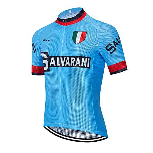 MTBHW Manga Corta Camiseta de Ciclismo de montaña para Hombre,Ropa de Ciclismo
