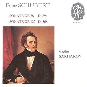 Schubert: Sonate, Op. 78, D. 894 & Sonate, Op. 122, D. 568