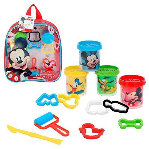 Disney - Plastilina infantil 4 Botes Plastilina Niños 3 añ