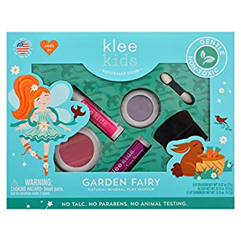 Luna Star Naturals Klee Kids 4 PC Makeup Up Kits with Compacts  Garden Fairy
