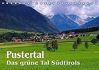 Pustertal - Das gruene Tal Suedtirols (Tischkalender 2022 DIN A5 quer): Mit Bildern aus dem Osten Suedtirols durchs Jahr (Monatskalender, 14 Seiten )