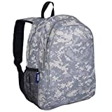 Wildkin 15 Inch Kids Backpack for Boys & Girls, 600-Denier Polyester Backpack for Kids, Features Padded Back & Adjustable Strap, Perfect Size for School & Travel Backpacks, BPA-free (Digital Camo)