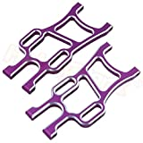 SDUIXCV HSP 108821 Aluminum Rear Lower Suspension Arm 08006 1/10 Upgrade Parts for RC Monster Truck Volcano Epx Exceed Infinity EP ( Color : Purple )
