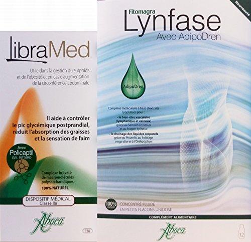 Aboca Fitomagra - Caja de libramed + 1 caja de linfase