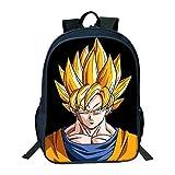 Douzxc Mochila escolar para estudiantes anime mochila escolar Dragon Ball, cómoda y duradera, 24