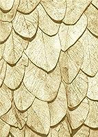 数字キットによるペイント 黄金の葉 DIYアクリルキャンバス絵画 大人の子供向け初心者、油絵、フレームなし16x20inch