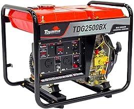 Gerador Diesel Toyama 2200w Bivolt 115/230v Tanque 2,5l Motor Td50 Brushless Tdg2500bx