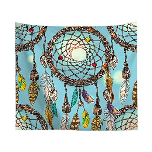 Mosaic Tapestry  Colorful Dream Catcher Tapestry Bohemia Hippie Wall Hanging Bedspread Dorm Decor Home & Garden Home Textiles Christmas for Faclot