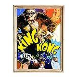 FANART369 King Kong Poster A3 Größe Filmposter Original