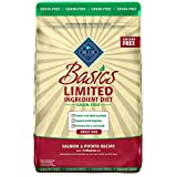 Blue Buffalo Blue Basics Limited Ingredient Grain Free Salmon & Potato Adult Dog Food, 11 lbs.
