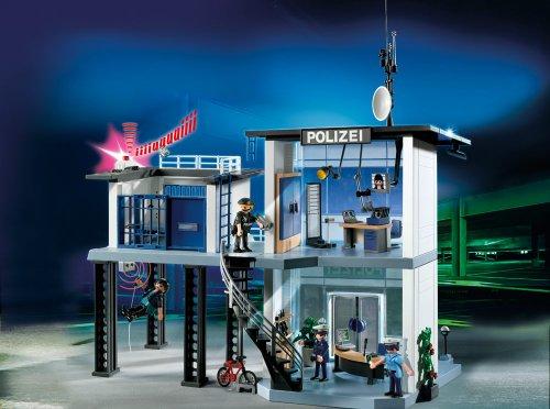 Playmobil 5176 - Stazione di Polizia con Allarme [Germania]
