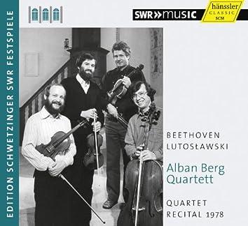 Quartet Recital 1978
