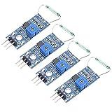 Broco 4 PC/ajuste el interruptor de sensor magnético Reed Módulo de bricolaje Kit normal...