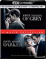 Fifty Shades: 2-Movie Collection - Unrated Edition (4K Ultra HD + Blu-ray + Digital HD)