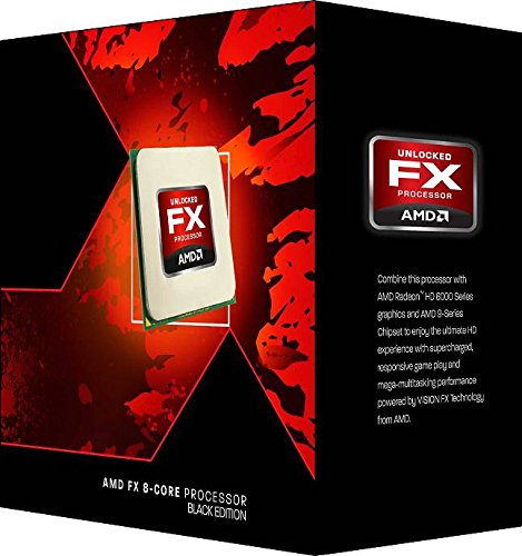AMD FD8320FRHKBOX FX-8320 FX-Series 8-Core Black Edition Processor