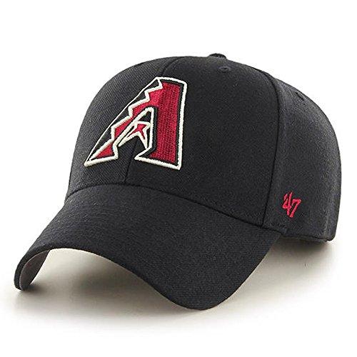 '47 Brand Arizona Diamondbacks MVP Hat Cap Black