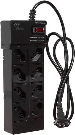 DPS - 8 tomadas - Clamper Multi Energia - Preto - 9369