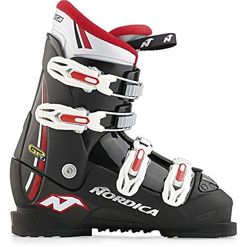 Nordica Chaussures de Ski GP TJ Junior 2016, Noir/Bleu, 21