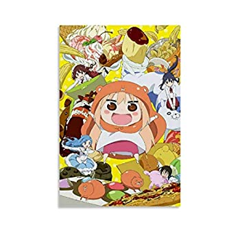 XIAOG Anime Himouto Umaru Chan Poster Decorative Painting Canvas Wall Art Living Room Posters Bedroom Painting 12x18inch 30x45cm