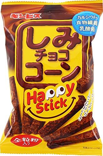 ギンビス しみチョココーンハッピースティックチョコ 43g ×20袋