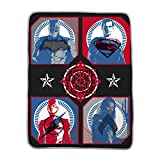 Franco Kids Bedding Throw, 46' x 60', Justice League