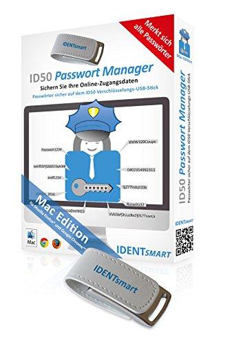 IDENTsmart ID50 Passwort Manager MAC Standard 1 Gerät unbekannt Mac USB Stick USB Stick