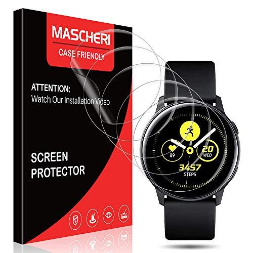 MASCHERI Pellicola per Samsung Galaxy Watch Active 2 (40mm) / Samsung Galaxy Watch Active Protettiva, [6 Pezzi] [TPU-Morbido Pellicola] [ Non Vetro Temperato ] Schermo Protettivo