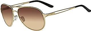Oakley Women's OO4054 Caveat Aviator Metal Sunglasses60 mm