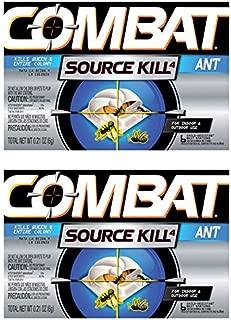 Combat Source Kill 4: Six Ant Bait Stations. Kills Queen & Entire Colony. Henkel 45901 - Set of 2