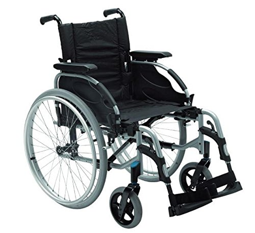 Rollstuhl Action 2, mit Trommelbremse lang SB 48 cm
