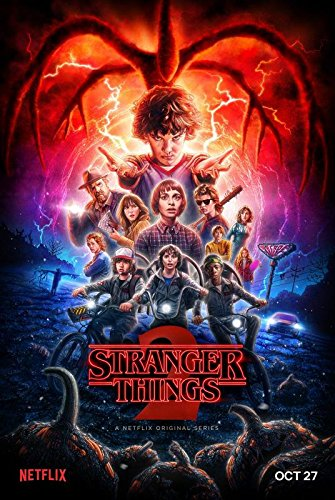 Stranger Things 2 – U.S TV Series Wall Poster Print - 30cm x 43cm / 12 inches x 17 inches