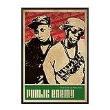 ADNHWAN Public Enemy Music Sänger Poster Hip Hop Rap Musik