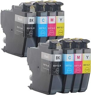 خرطوشة حبر متوافقة مع طابعة بروذر MFC-J5330DW MFC-J6530DW MFC-J6530DW MFC-J6730DW MFC-J6930DW Printer، مع رقاقة ، مجموعة ع...