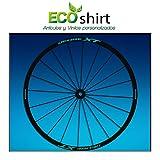 Ecoshirt PL-A6MW-U53Q Pegatinas Stickers Llanta Rim Shimano Deore XT Am49 MTB Downhill, Menta 29'