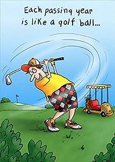 Amazon Golf Birthday Card