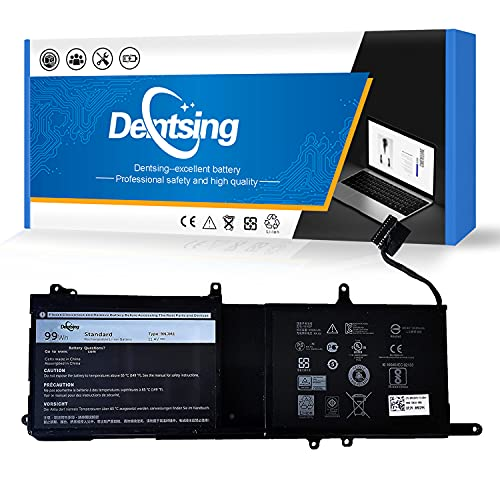Dentsing 9NJM1 99Wh 11.4V Laptop Battery Compatible with Dell Alienware 15 R3 R4 17 R4 R5 ALW17C-D1738 Series Notebook 01D82 0546FF 0HF250 44T2R MG2YH